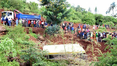 At least 29 schoolchildren killed in Tanzania bus crash