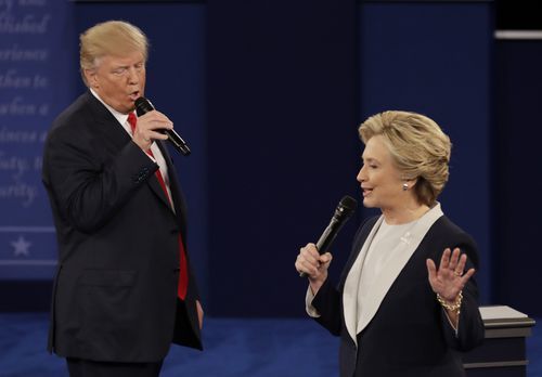 Donald Trump and Hillary Clinton clashed over income tax returns in their Presidential debate in 2016.