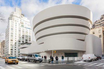 Solomon R Guggenheim Museum in New York City, New York