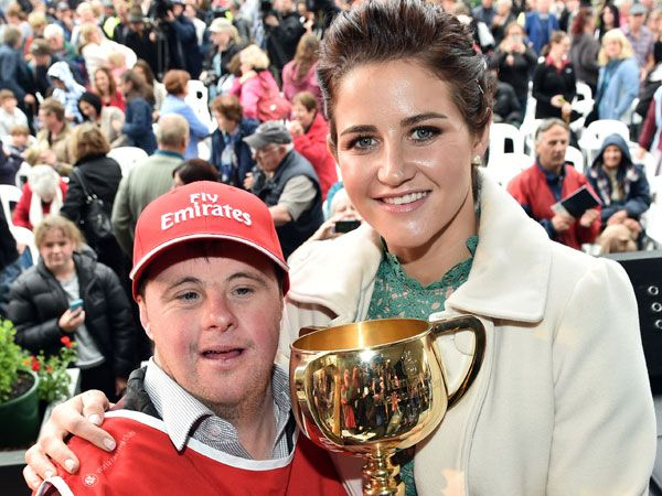 Stevie and Michelle Payne. (AAP)