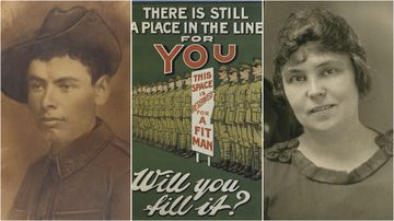 Richard Kirby and Marion Leane Smith are two indigenous Australians who served in WW1.