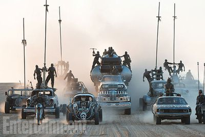 """One thing's for sure, it's going to be one hell of an epic flick.<br/><br/>""""I wanted to tell a linear story,"""" director George Miller told <i>Entertainment Weekly</i>. """"A chase that starts as the movie begins and continues for 110 minutes.""""<br/><br/>A car chase that goes for 110 minutes? Intense."""