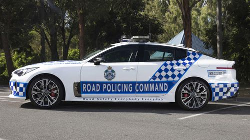 It is expected the high-powered vehicles will be patrolling the state's roads by Christmas this year. Picture: Supplied.