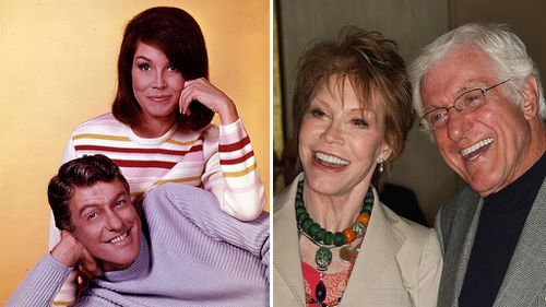 'She left an imprint on television comedy': Dick Van Dyke pays tribute to Mary Tyler Moore