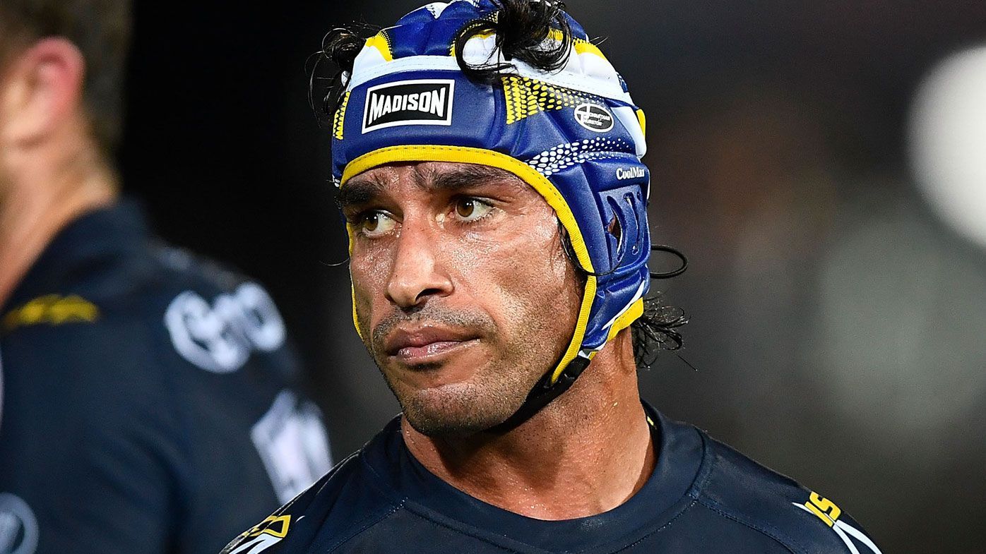 North Queensland's Johnathan Thurston's NRL swan song on verge of collapse