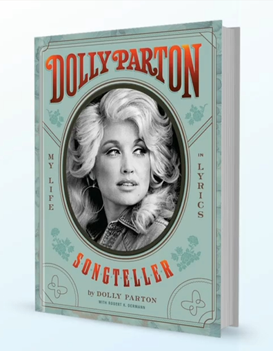 Dolly Parton has released a new book called 'Songteller'.