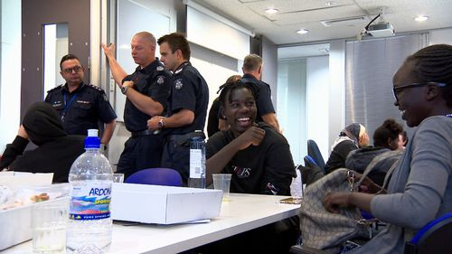 The program is breaking down barriers on both sides of the thin blue line.