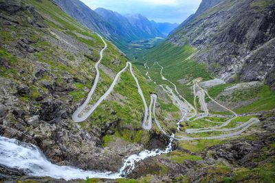 Trollstigen ('Troll Ladder'), Norway