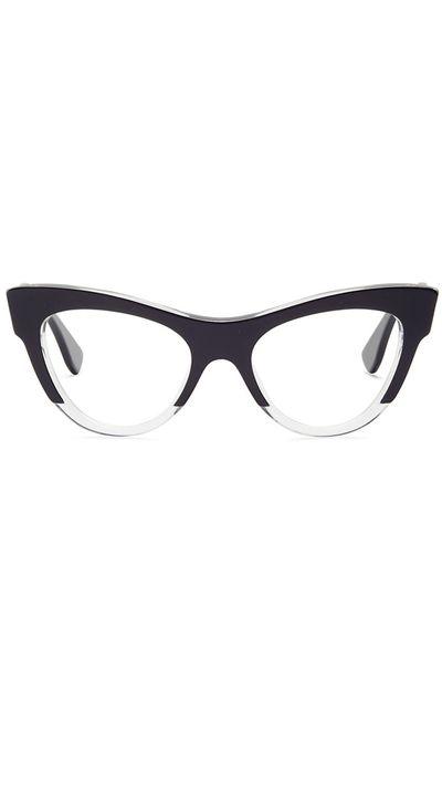 "<a href=""http://www.opsm.com.au/frames/miu-miu/cat-eye/mu-07mv-rasoir/8053672148886"" target=""_blank"">MU 07MV Rasoir, $399, Miu Miu</a>"