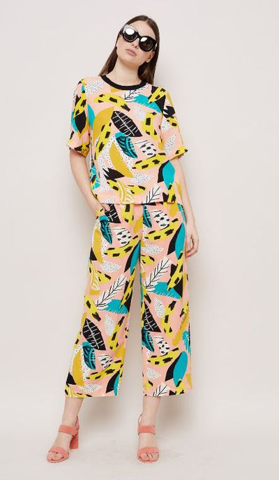"Poolside Chic with a twist<br /> You don&rsquo;t need a kaftan to be colourful. Ask Gorman?<br /> <br /> Gorman Gone Bananas <a href=""http://www.gormanshop.com.au/atelier-bingo-gorman/gone-bananas-top.html"" target=""_blank"">top</a> $169, <a href=""http://www.gormanshop.com.au/atelier-bingo-gorman/gone-bananas-pant.html"" target=""_blank"">pants</a> $229"