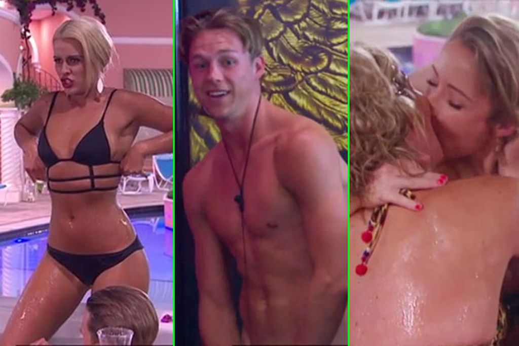 Butt Obsessions Hot Tub Hook Ups And Dancing Doonas Big Brother 2014s Raunchiest Moments