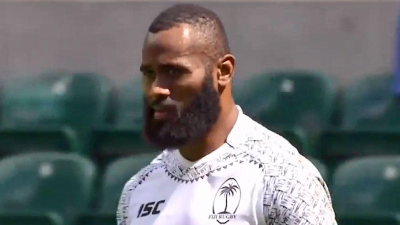 Semi Radradra scores scintillating try for Fiji at London Sevens