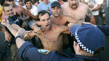 The 2005 Cronulla riots became international news.