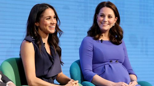 Meghan Markle and the Duchess of Cambridge.