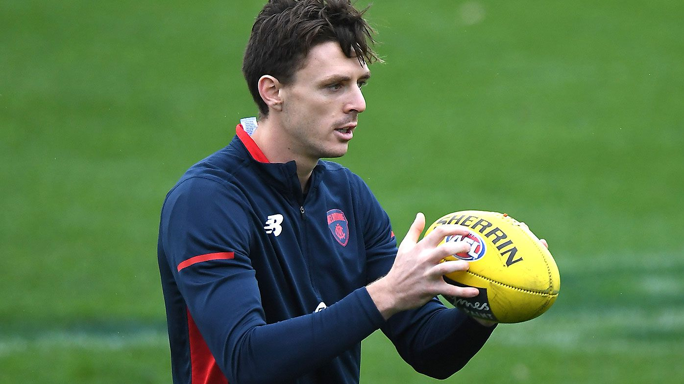 Melbourne star Jake Lever aiming for Queen's Birthday return after ankle flare-up