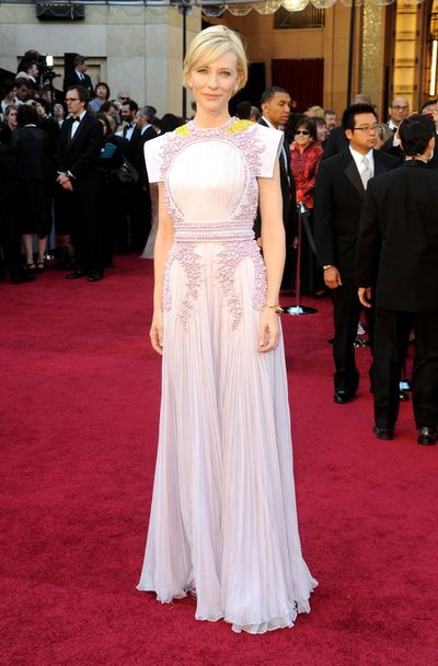 Actress Cate Blanchett at the 83rd Annual Academy Awards in Hollywood in 2011.