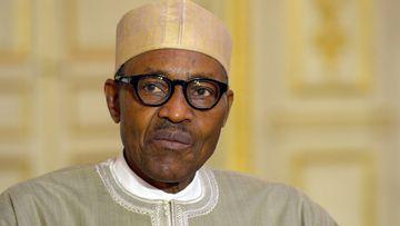 Nigerian President Muhammadu Buhari. (AFP)