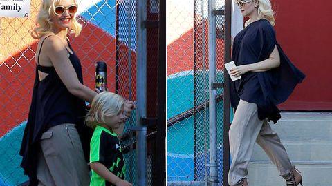 Baby bump watch! Gwen Stefani 'pregnant with third child' at 43