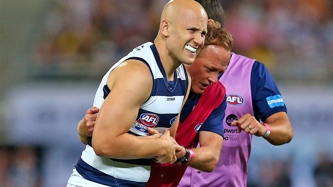 Gary Ablett's final AFL game falls short of fairytale ending after brave AFL grand final performance