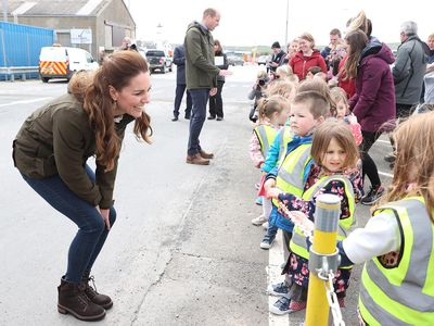 The Duke and Duchess of Cambridge in Orkney, May 25