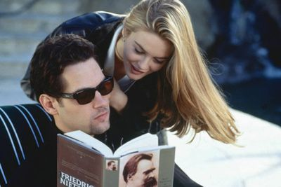 Examples: Alicia Silverstone and Paul Rudd in <i>Clueless</i>, Billy Crystal and Meg Ryan in <i>When Harry Met Sally</i>.