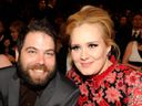 Adele, husband, Simon Konecki, Grammy Awards, 2013
