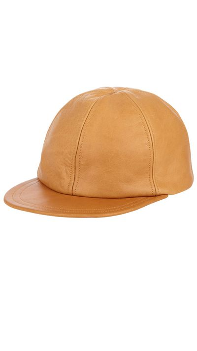 "<a href=""http://www.barneyswarehouse.com/Eugenia-Kim-Darien-Cap-503580766.html"" target=""_blank"">Darien Cap, approx. $243, Eugenia Kim at barneyswarehouse.com</a>"