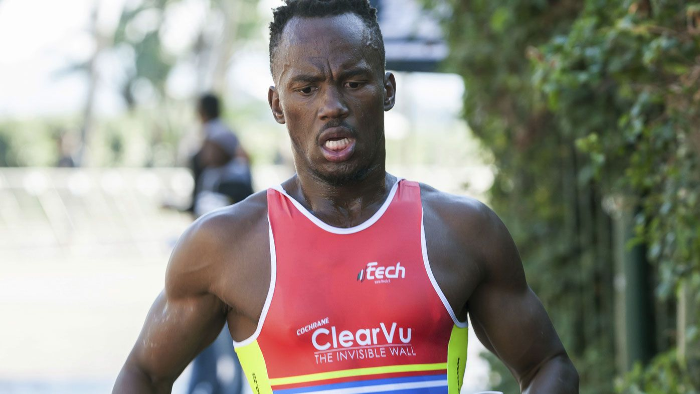 Chainsaw-wielding gang randomly attacks South African triathlete Mhlengi Gwala