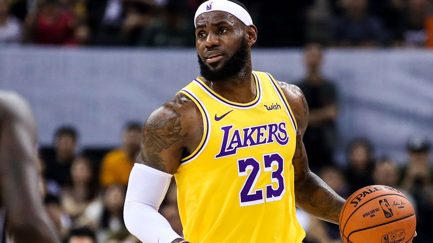LeBron James won't discuss China-NBA feud again
