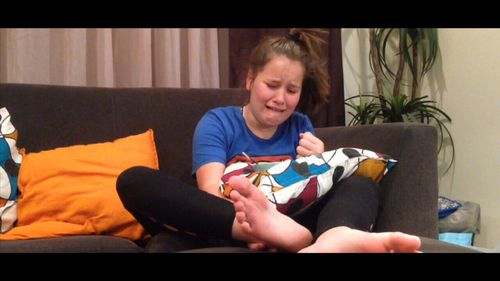 The pain originated in Chloe's foot but moved.