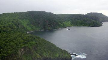 This aerial view shows the archipelago of Fernando de Noronha, northeast of Brazil. (AP)