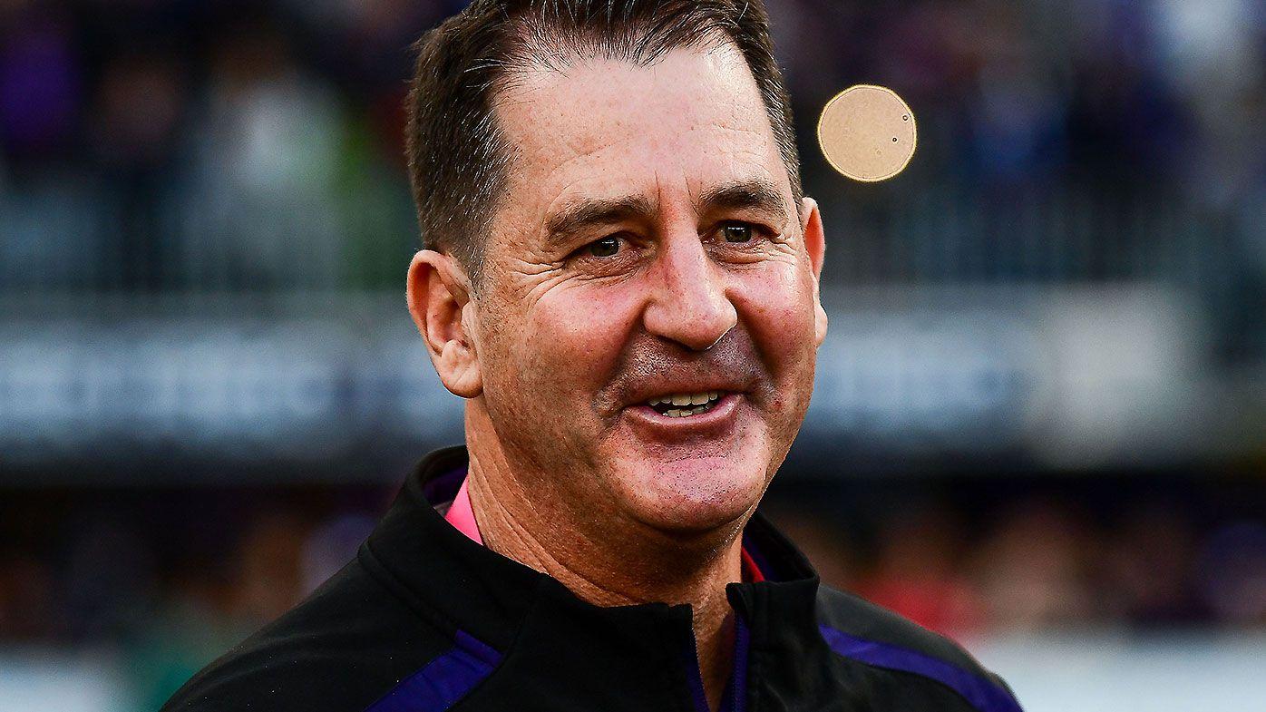 Ross Lyon refuses to shut door on being Collingwood's next senior coach