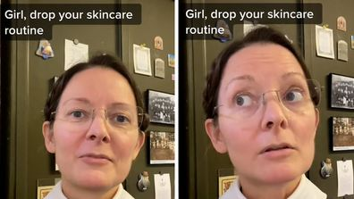 A nun named Claudette Monica Powell, or Sister Monica Clare, has detailed her skincare routine in a TikTok video