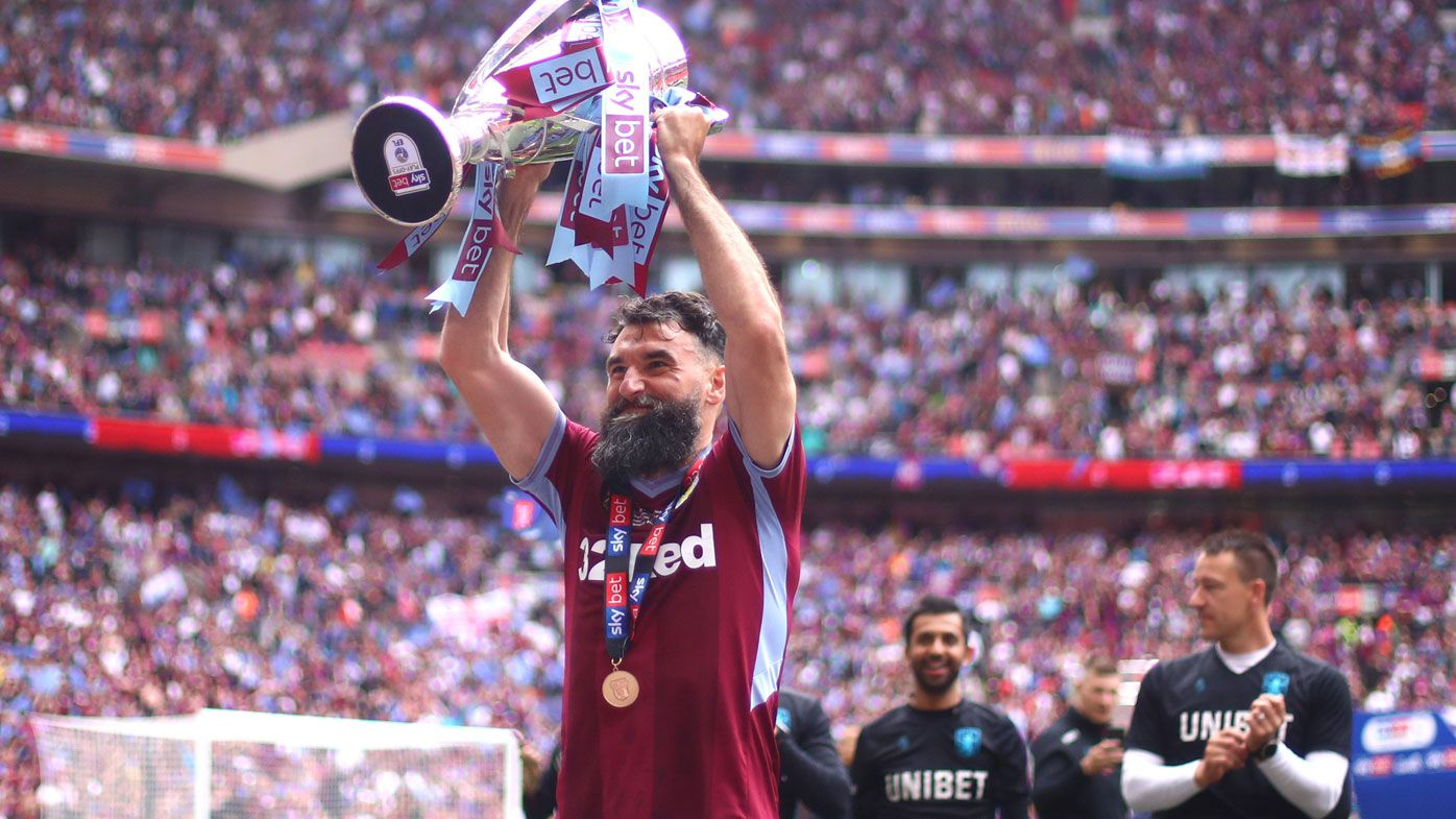 Former Socceroos captain Mile Jedinak retires from all football at age 35