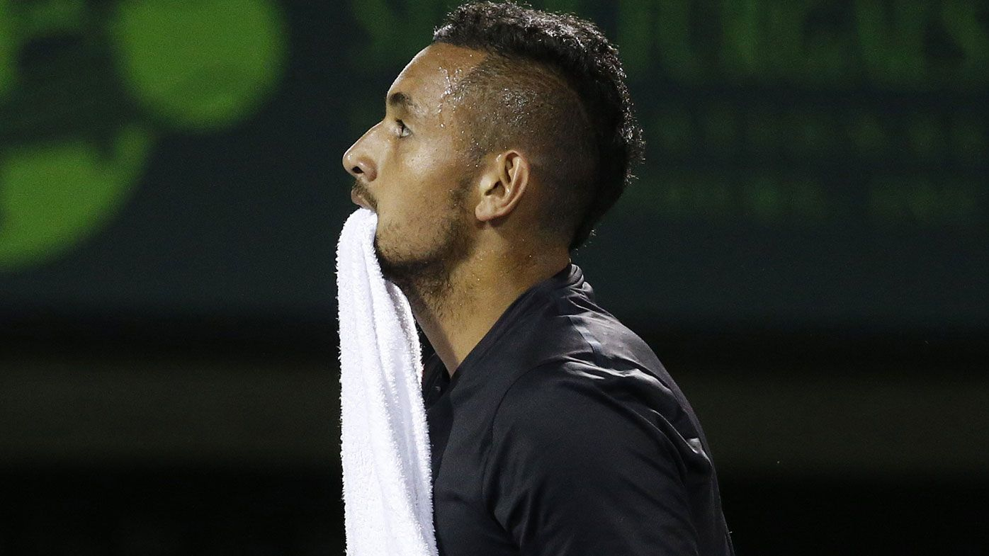 Australia's Nick Kyrgios pulls out of French Open as elbow injury battle continues
