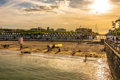 Swanage beach in Dorset