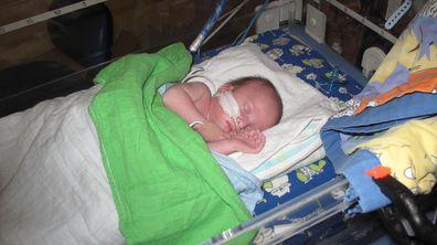 Alex and Dale kids newborn