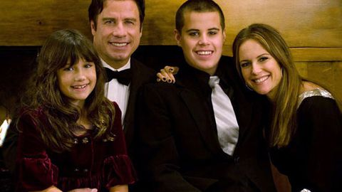 Revealed: John Travolta's wife opens up about son's death