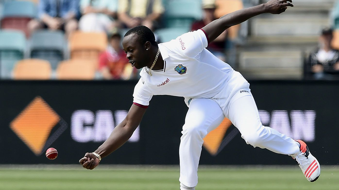 West Indies quick Kemar Roach destroys Bangladesh in ODI