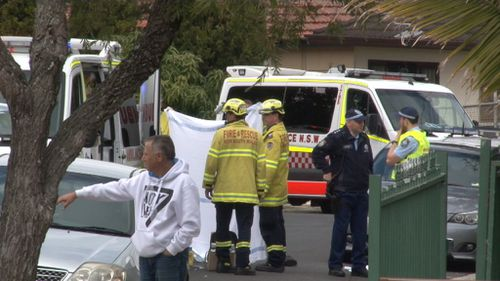 The crash occurred just before 11am on Warwick Street. (9NEWS)