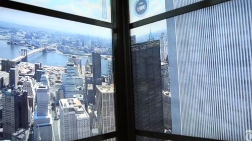 The 2 World Trade Center building will appear for just four seconds. (NY Times)