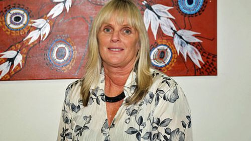 Debbie Kilroy after she was awarded an Order of Australia medal in 2003 for her work with Sisters Inside.
