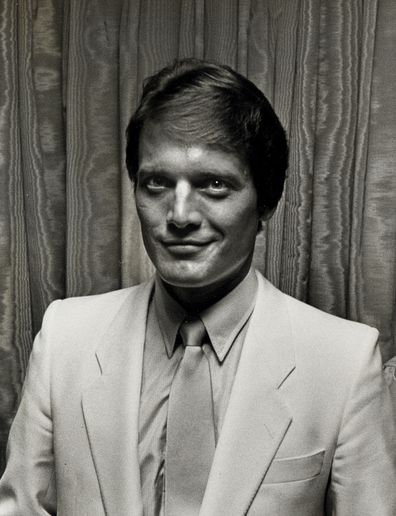 Michael Tylo attends the Daytime Emmy Awards in 1982 at the Waldorf Astoria Hotel in New York City.