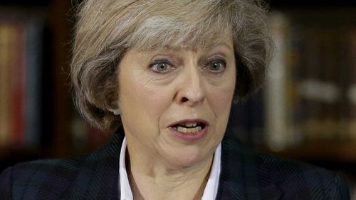 Conservative MP Theresa May. (AAP)