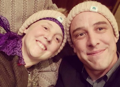 Connie Johnson has been awarded the Golden Wattle Award alongside her brother Samuel Johnson. (Instagram/Love Your Sister)