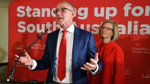 Premier Jay Weatherill has not said whether he will aim to stay on as Labor leader. (AAP)