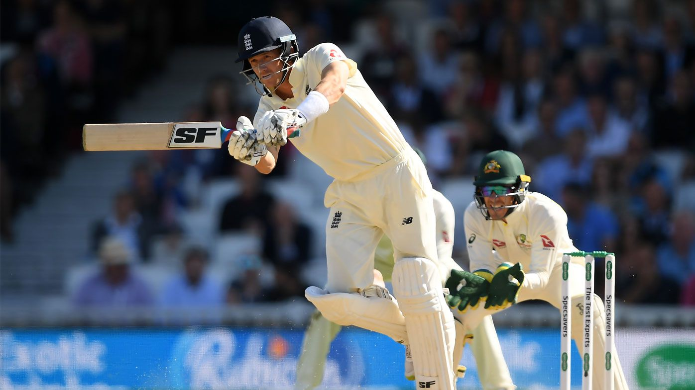 Denly fell just short of his maiden Test hundred on day three