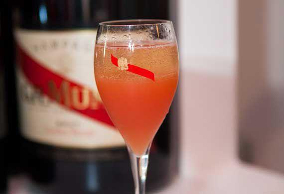 Cordon luge champagne cocktail