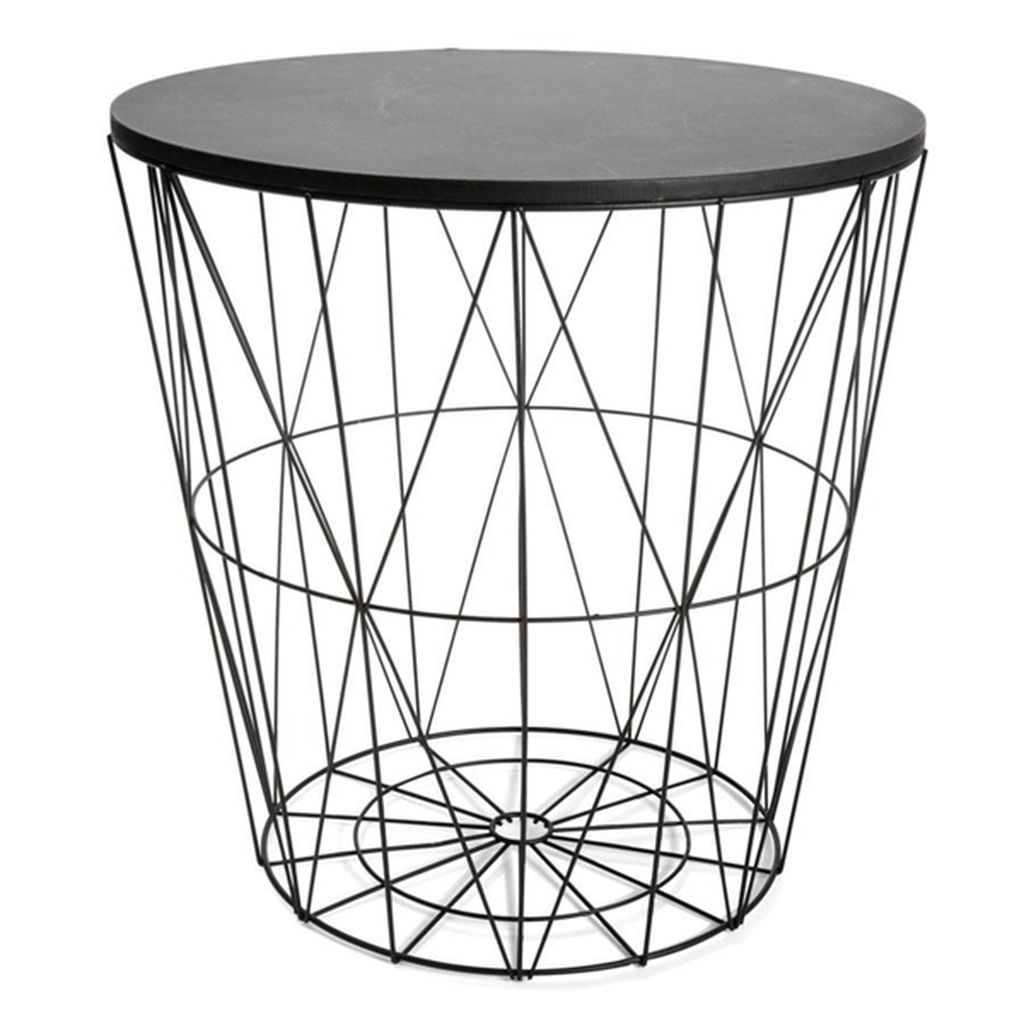 Transform your home with kmarts new outdoor collection wire storage table in black greentooth Images