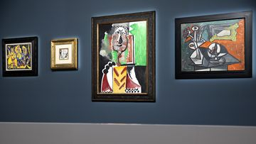 Picasso artworks auctioned for combined $146m in Las Vegas